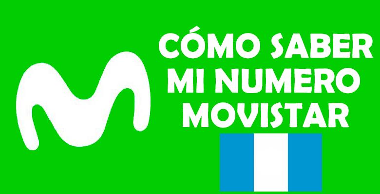 como saber mi numero movistar guatemala